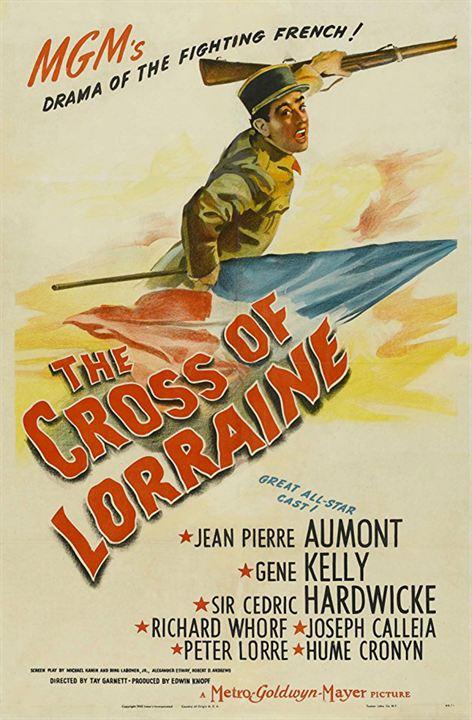 La Croix de Lorraine : Affiche
