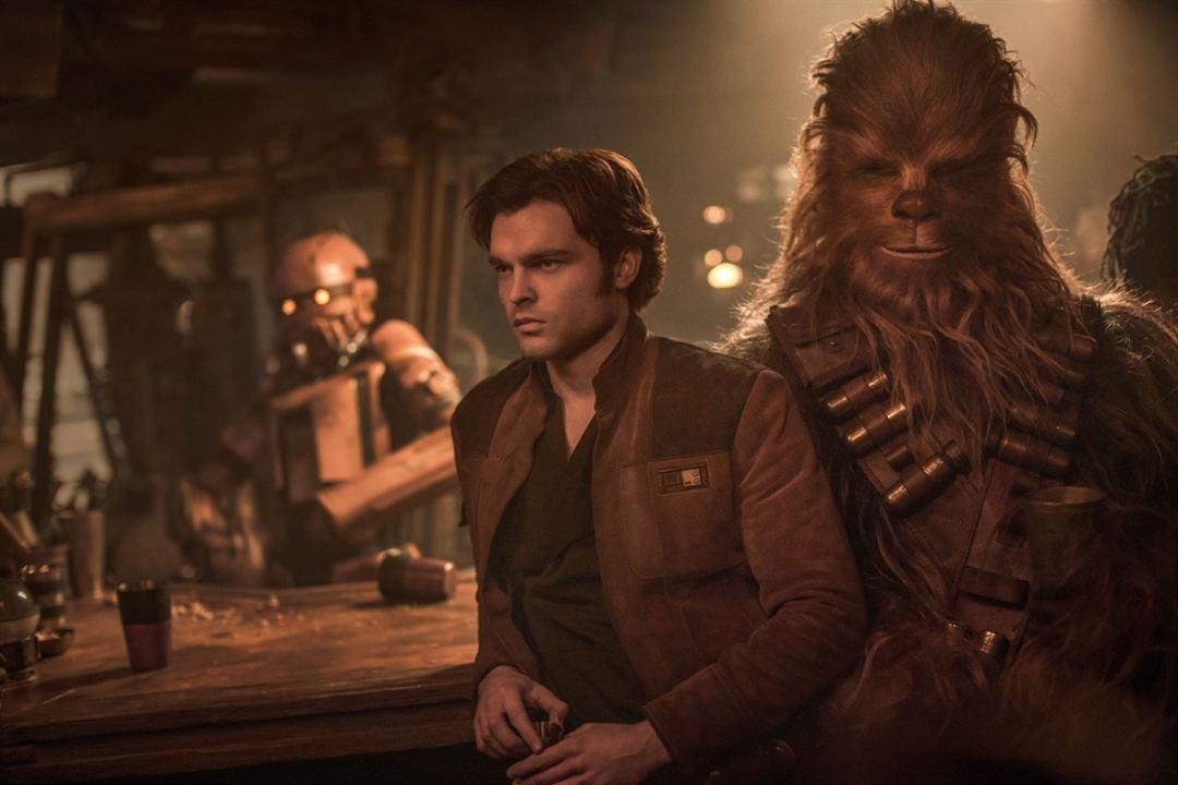 Solo: A Star Wars Story : Photo Alden Ehrenreich, Joonas Suotamo