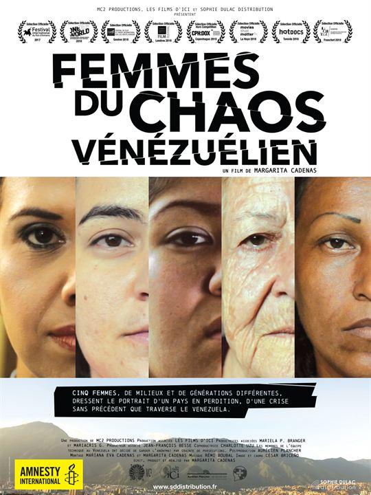 Femmes du chaos Vénézuélien : Affiche