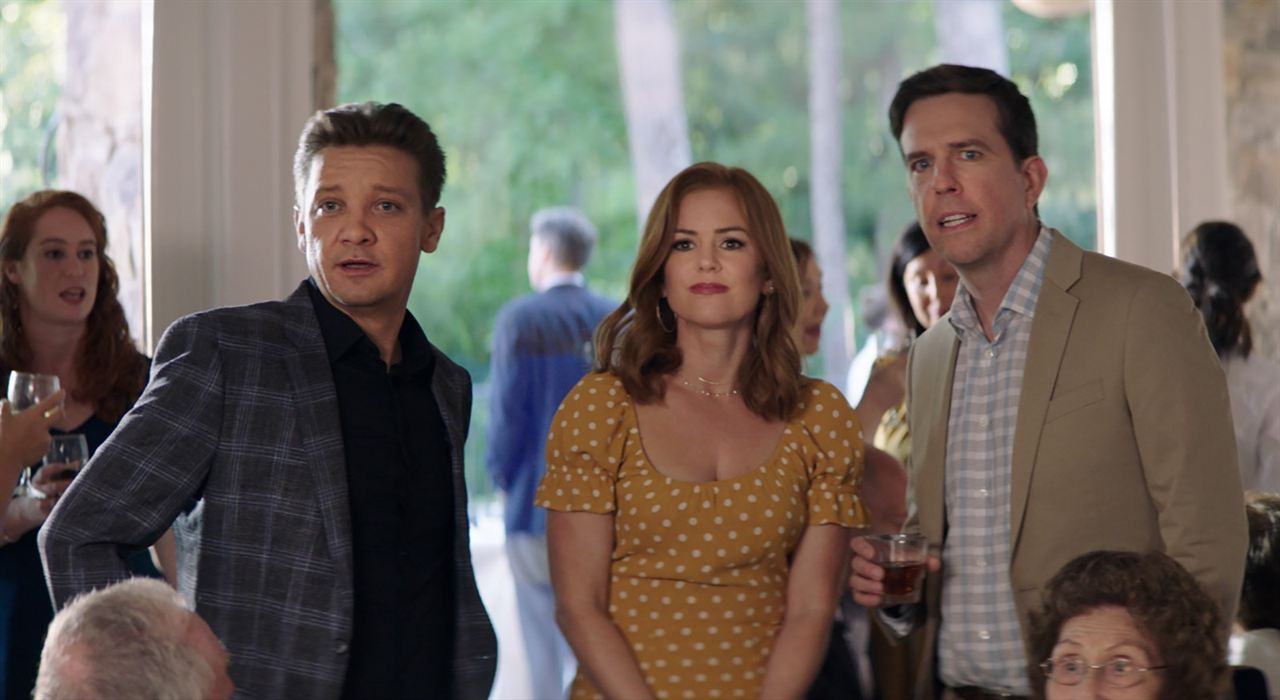 Tag : Photo Ed Helms, Isla Fisher, Jeremy Renner