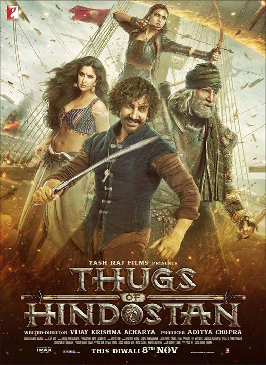 Thugs of Hindostan : Affiche