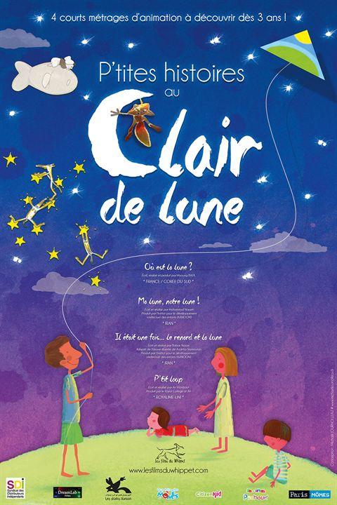 P'tites histoires au Clair de lune : Affiche