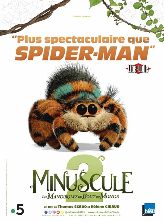 Minuscule 2 - Les Mandibules du Bout du Monde : Affiche