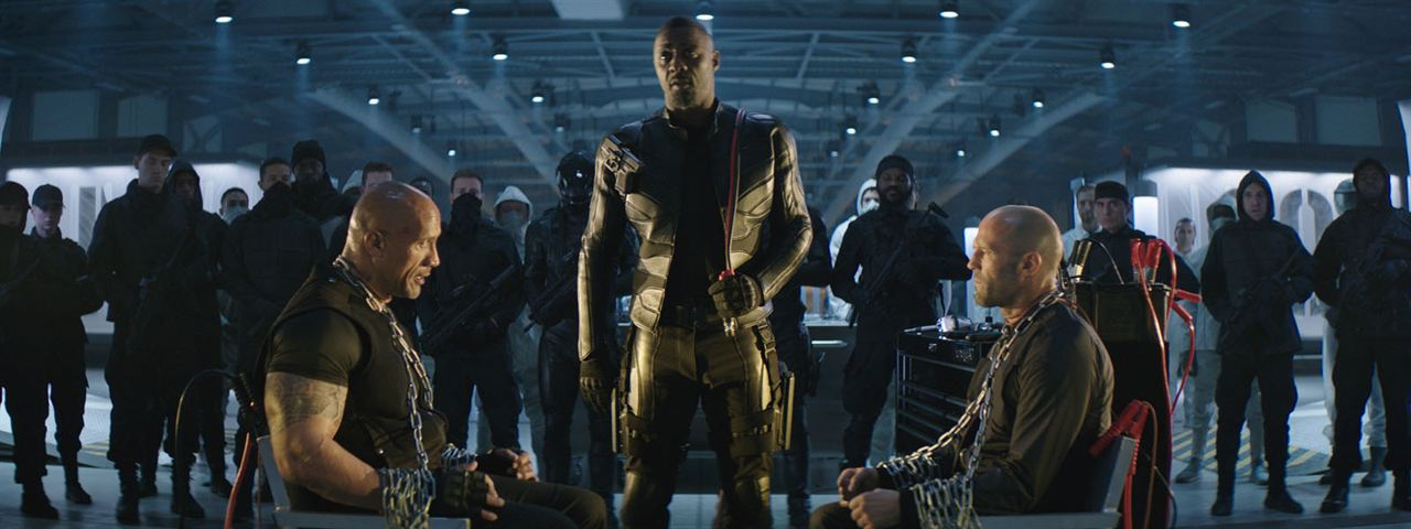 Fast & Furious : Hobbs & Shaw : Photo Dwayne Johnson, Idris Elba, Jason Statham