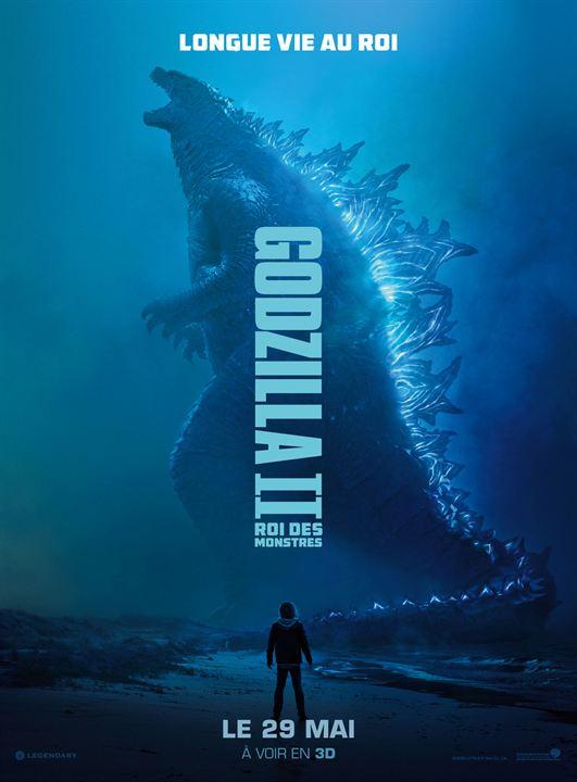Godzilla II Roi des Monstres : Affiche