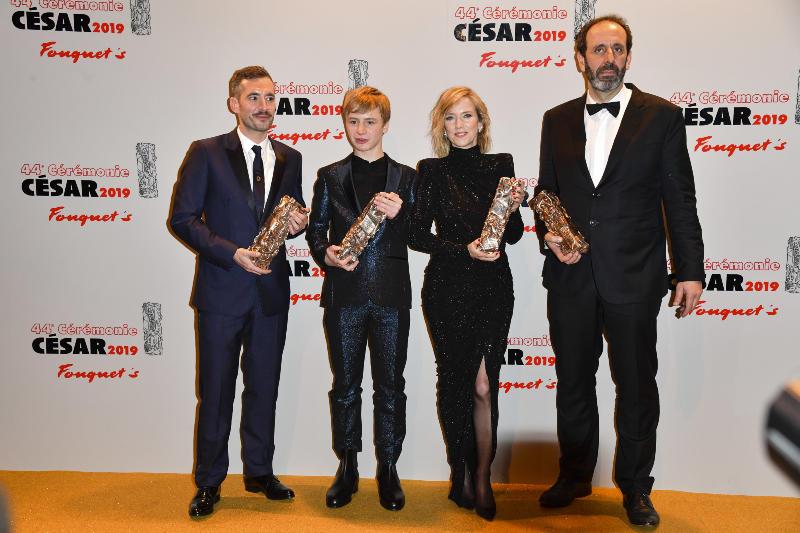 Jusqu'à la Garde : Photo promotionnelle Alexandre Gavras, Léa Drucker, Thomas Gioria, Xavier Legrand