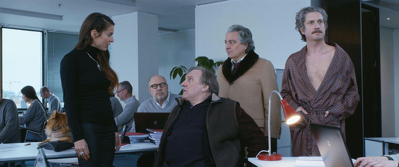 Convoi exceptionnel : Photo Audrey Dana, Charlie Dupont, Christian Clavier, Gérard Depardieu