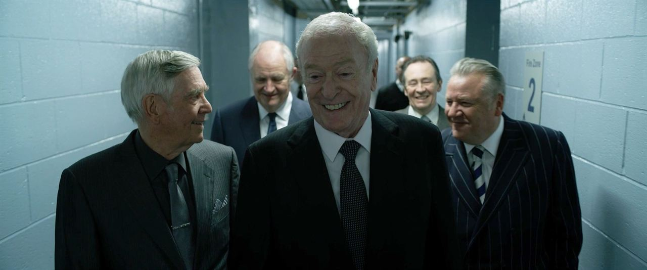 Gentlemen cambrioleurs : Photo Jim Broadbent, Michael Caine, Paul Whitehouse, Ray Winstone, Tom Courtenay