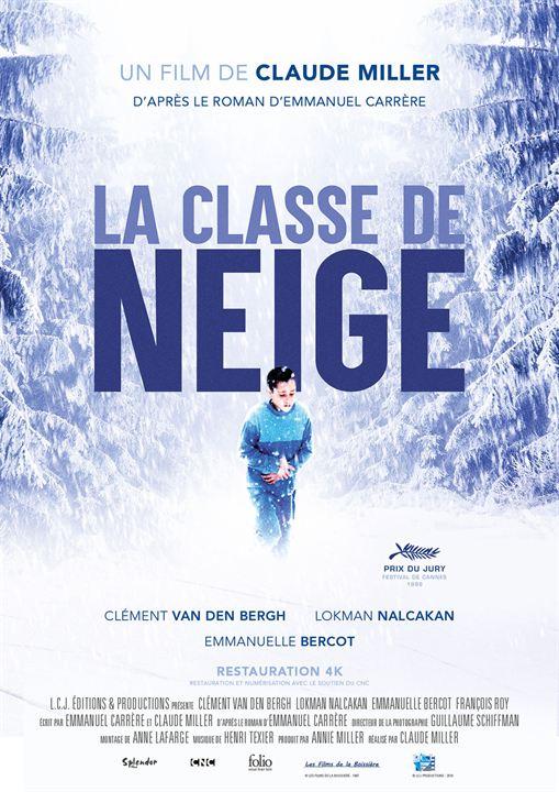 La classe de neige : Affiche