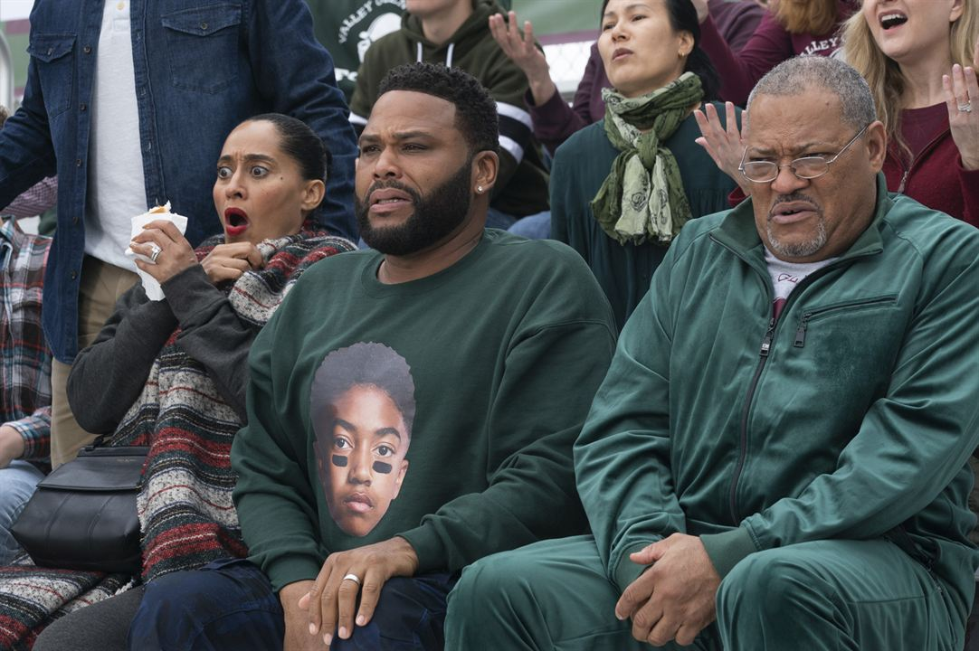 Photo Anthony Anderson, Laurence Fishburne, Tracee Ellis Ross