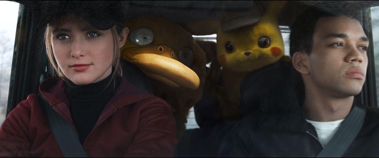Pokémon Détective Pikachu : Photo Justice Smith, Kathryn Newton