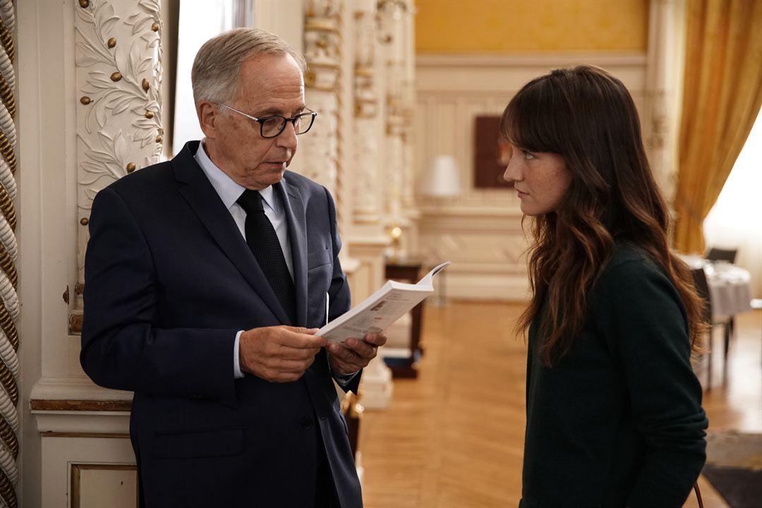Alice et le maire : Photo Anaïs Demoustier, Fabrice Luchini