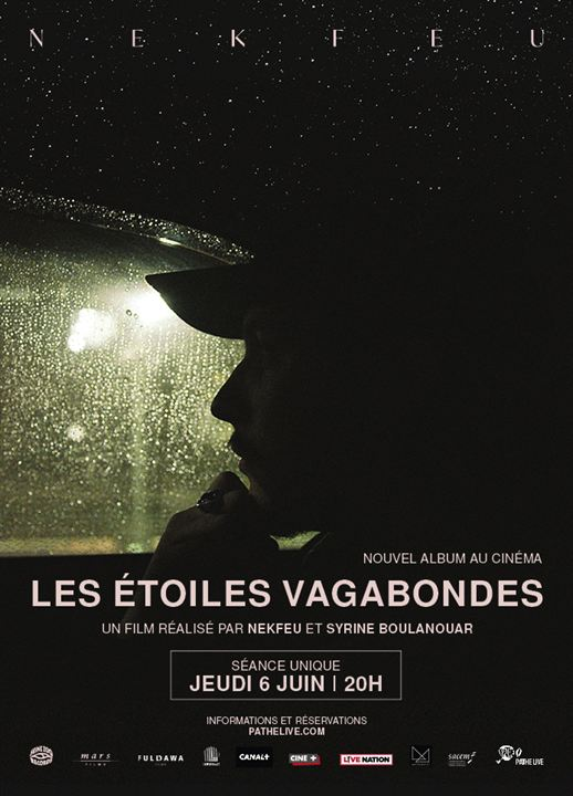 Les Étoiles vagabondes: nouvel album au cinéma : Affiche
