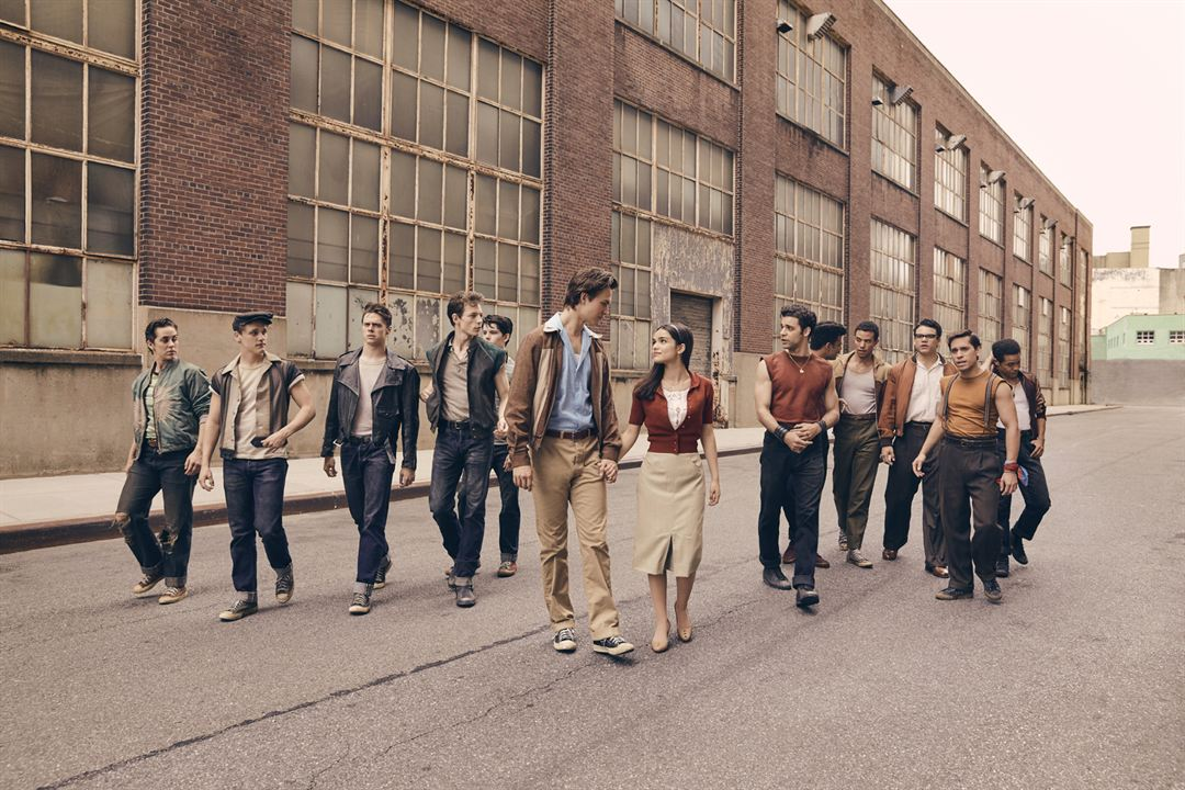 West Side Story : Photo Ansel Elgort, Ben Cook (XI), David Álvarez, Josh Andrés Rivera, Mike Faist