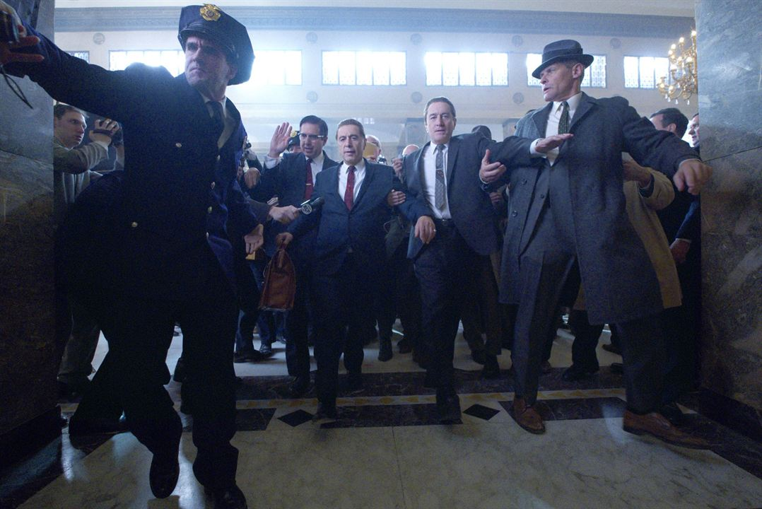 The Irishman : Photo Al Pacino, Robert De Niro