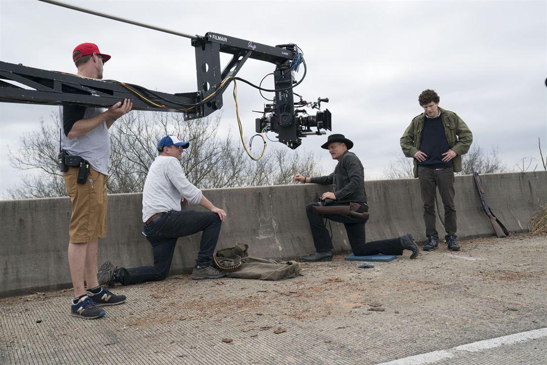 Retour à Zombieland : Photo Jesse Eisenberg, Ruben Fleischer, Woody Harrelson