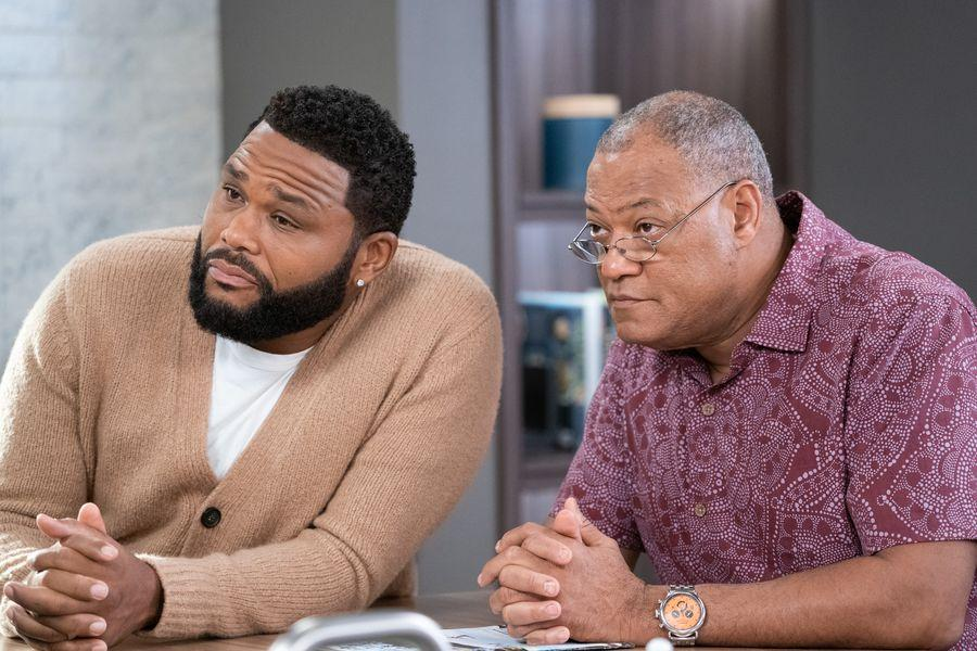 Photo Anthony Anderson, Laurence Fishburne