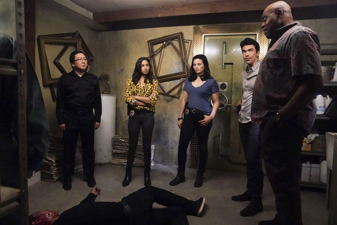 Photo Chi McBride, Ian Anthony Dale, Katrina Law, Masi Oka, Meaghan Rath