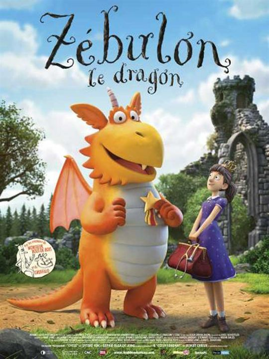 Zébulon, le dragon : Affiche