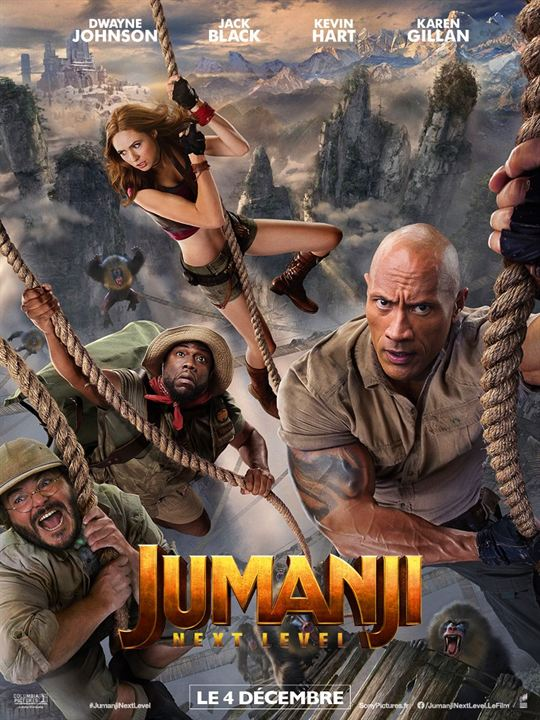 Jumanji: next level : Affiche
