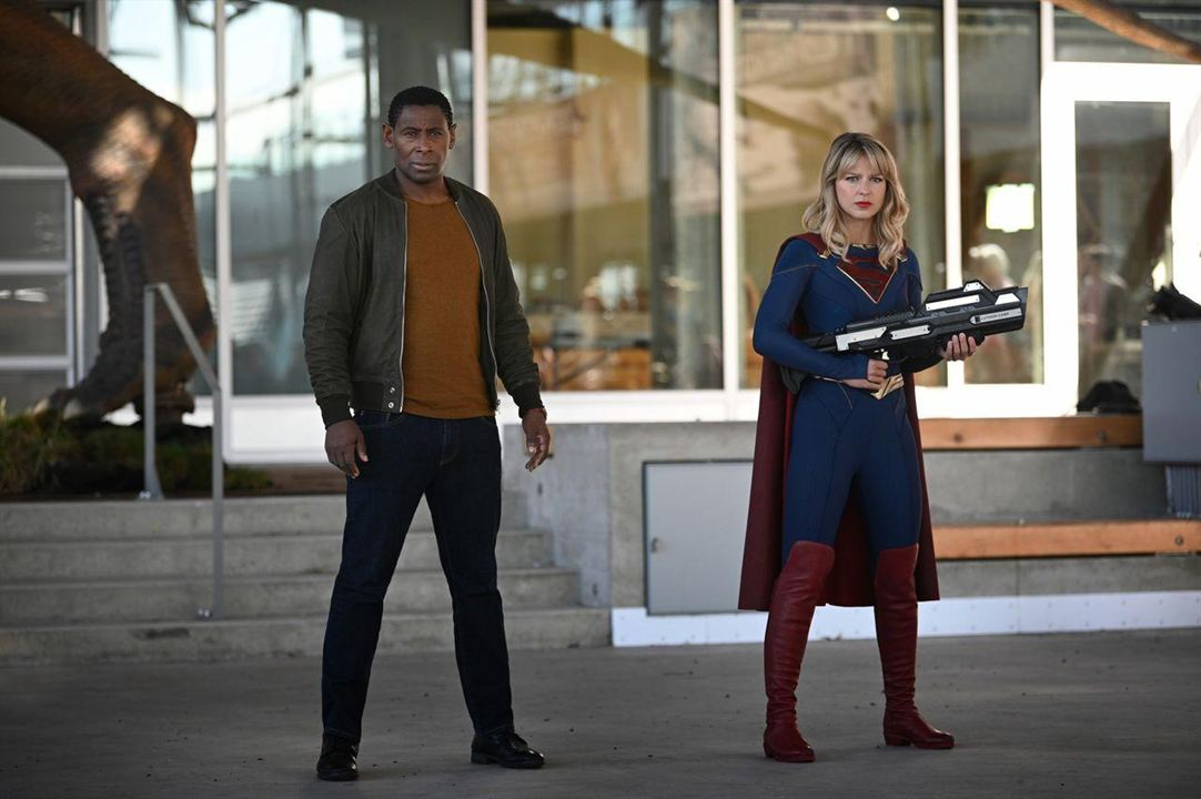 Photo David Harewood, Melissa Benoist