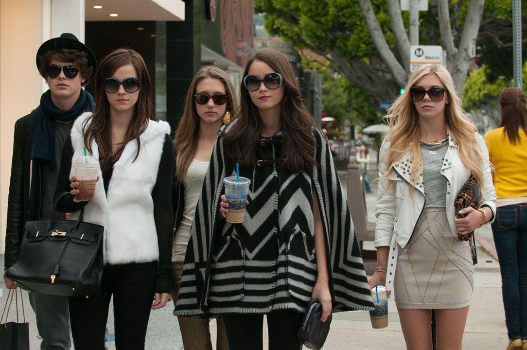 The Bling Ring : Photo Claire Julien, Emma Watson, Israel Broussard, Katie Chang, Taissa Farmiga