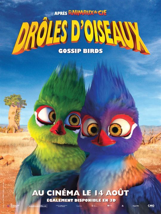 film drole d'oiseau bande annonce