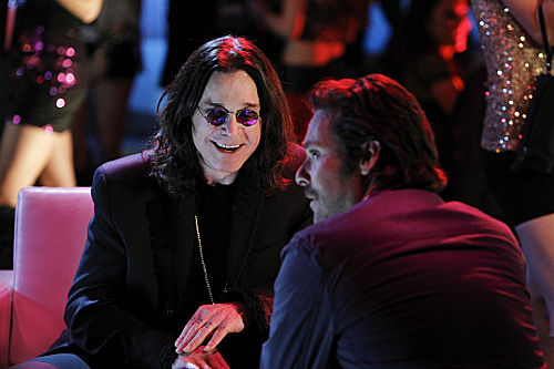 Photo James Callis, Ozzy Osbourne