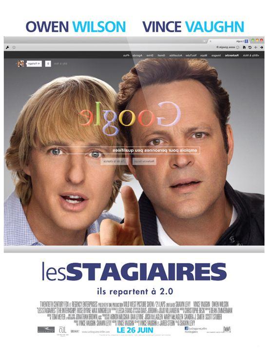 Les Stagiaires : Affiche