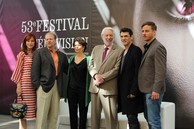 Photo Donald Sutherland, Ed Bernero, Gabriella Pession, Marc Lavoine, Rola Bauer