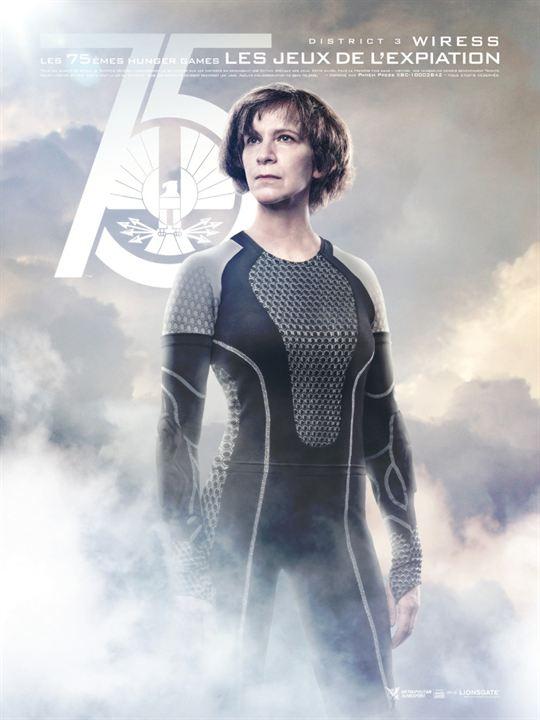 Hunger Games - L'embrasement : Affiche Amanda Plummer