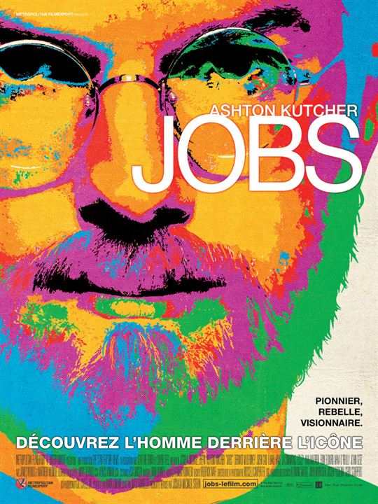 affiche du film jobs affiche 1 sur 1 allocin. Black Bedroom Furniture Sets. Home Design Ideas