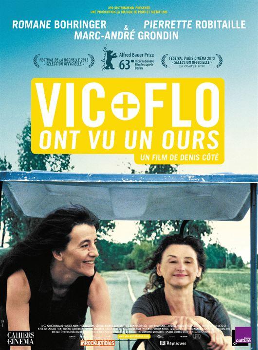 Vic + Flo ont vu un ours : Affiche