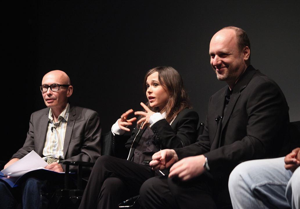 Photo David Cage, Ellen Page