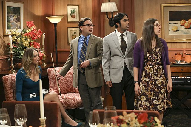 Photo Johnny Galecki, Kaley Cuoco, Kunal Nayyar, Mayim Bialik