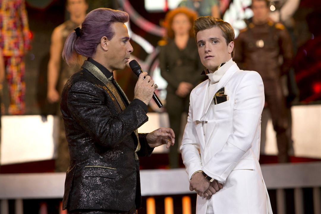 Hunger Games - L'embrasement : Photo Josh Hutcherson, Stanley Tucci