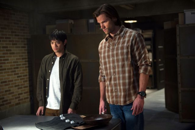 Photo Jared Padalecki, Osric Chau