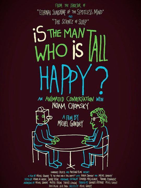 Conversation animée avec Noam Chomsky : Affiche