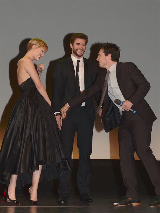 Hunger Games - L'embrasement : Photo promotionnelle Jennifer Lawrence, Josh Hutcherson, Liam Hemsworth