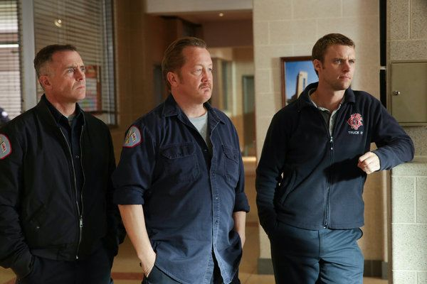 Photo Christian Stolte, David Eigenberg, Jesse Spencer