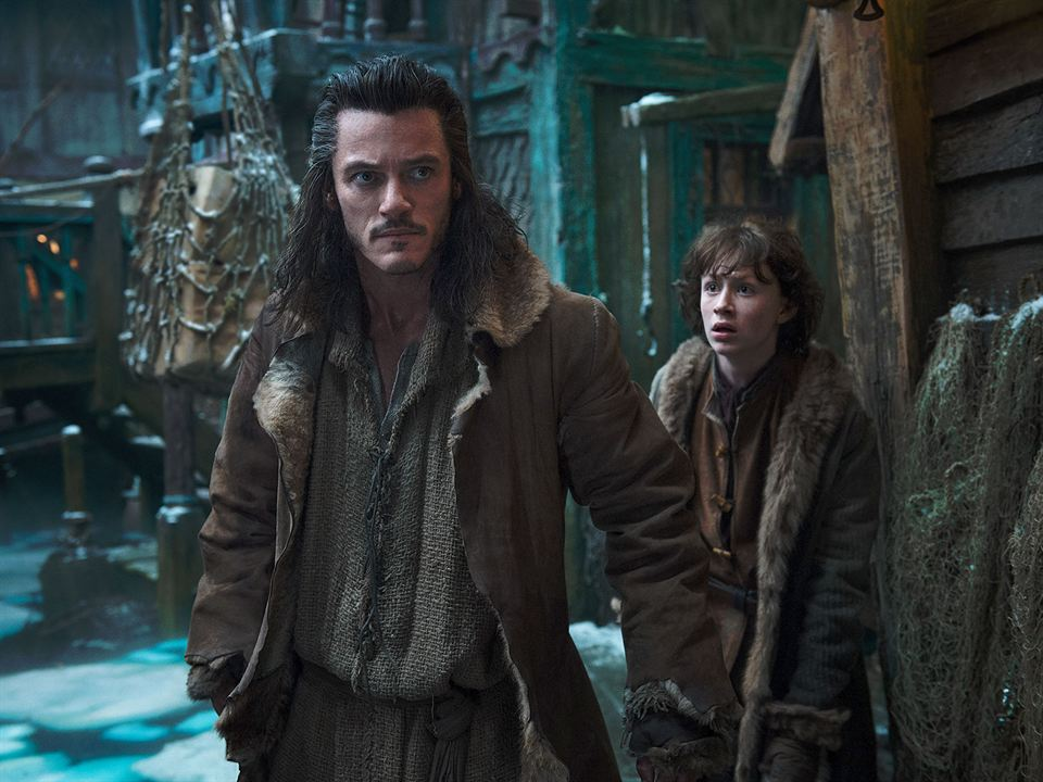 Le Hobbit : la Désolation de Smaug : Photo Luke Evans, Martin Freeman