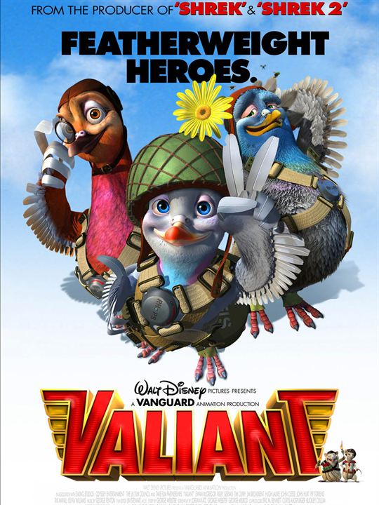 Vaillant, pigeon de combat ! : Affiche