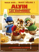 affiche du film Alvin et les Chipmunks
