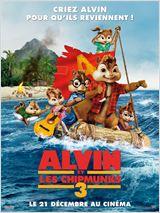 affiche du film Alvin et les Chipmunks 3