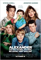 Alexander and the Terrible, Horrible, No Good, Very Bad Day en streaming