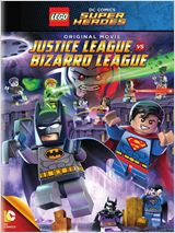 Lego DC Comics Super Heroes: Justice League vs. Bizarro League affiche