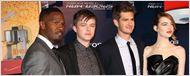 The Amazing Spider-Man 2 : Jamie Foxx, Andrew Garfield et Emma Stone renversants à l'avant-première parisienne