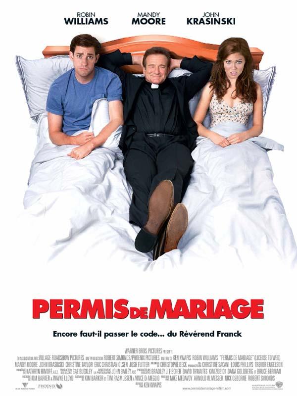 Permis de mariage en streaming