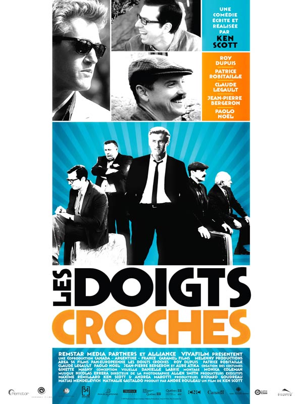 Les Doigts Croches FRENCH Movie Poster