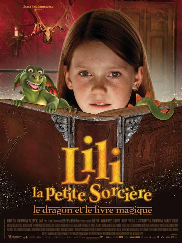 Lili la petite sorcière, le dragon et le livre magique movie poster